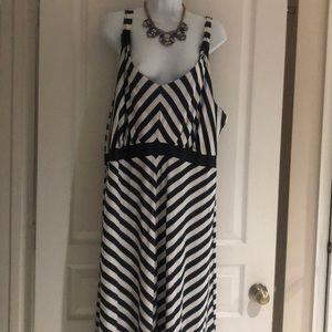Dresses & Skirts - Faded Glory Stripe Maxi Dress